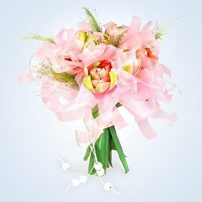 make wedding bouquets flowers tulips