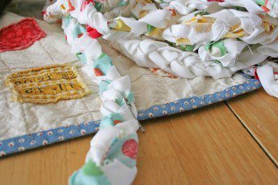goods textile weaving rug fabrics rag make