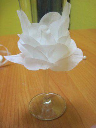 decorating wine glasses holidays wedding