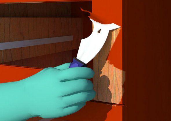 coating protective furniture preparing refinish paint