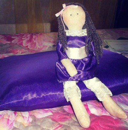 girls doll handmade dress