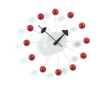 make designer wooden clock balls