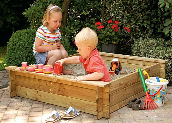form sandbox make wooden size handicrafts