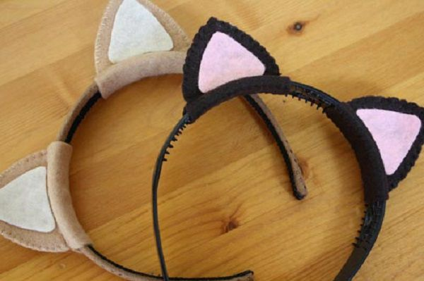 accessories cat ears handmade make