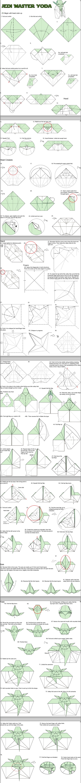 crafts origami yoda paper make