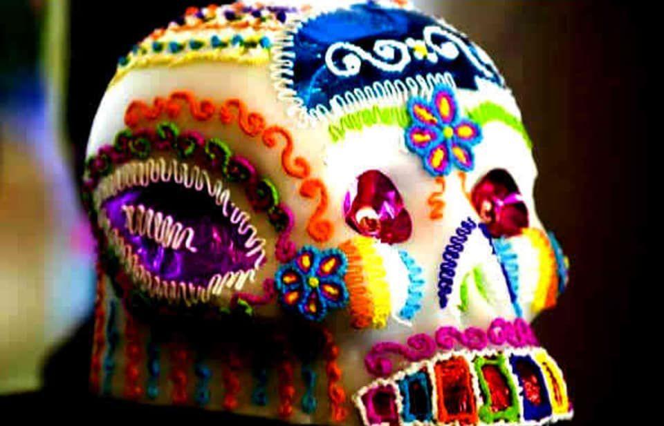 sugar decoration skull