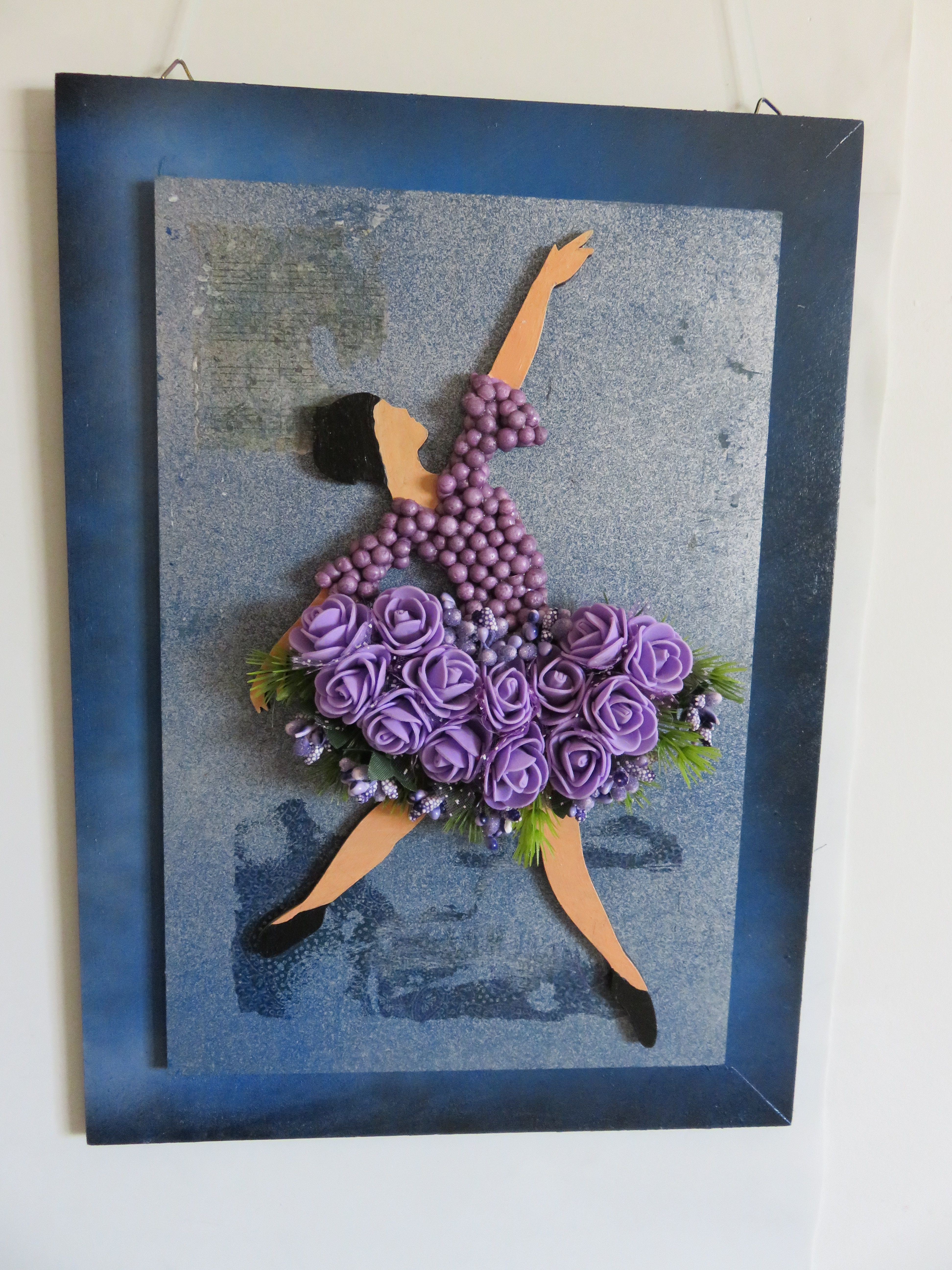 gift art unique decor purple for girls home décor living pink room wall hanging ballerina hangings homecoming ballet dancers ballerinas dancing
