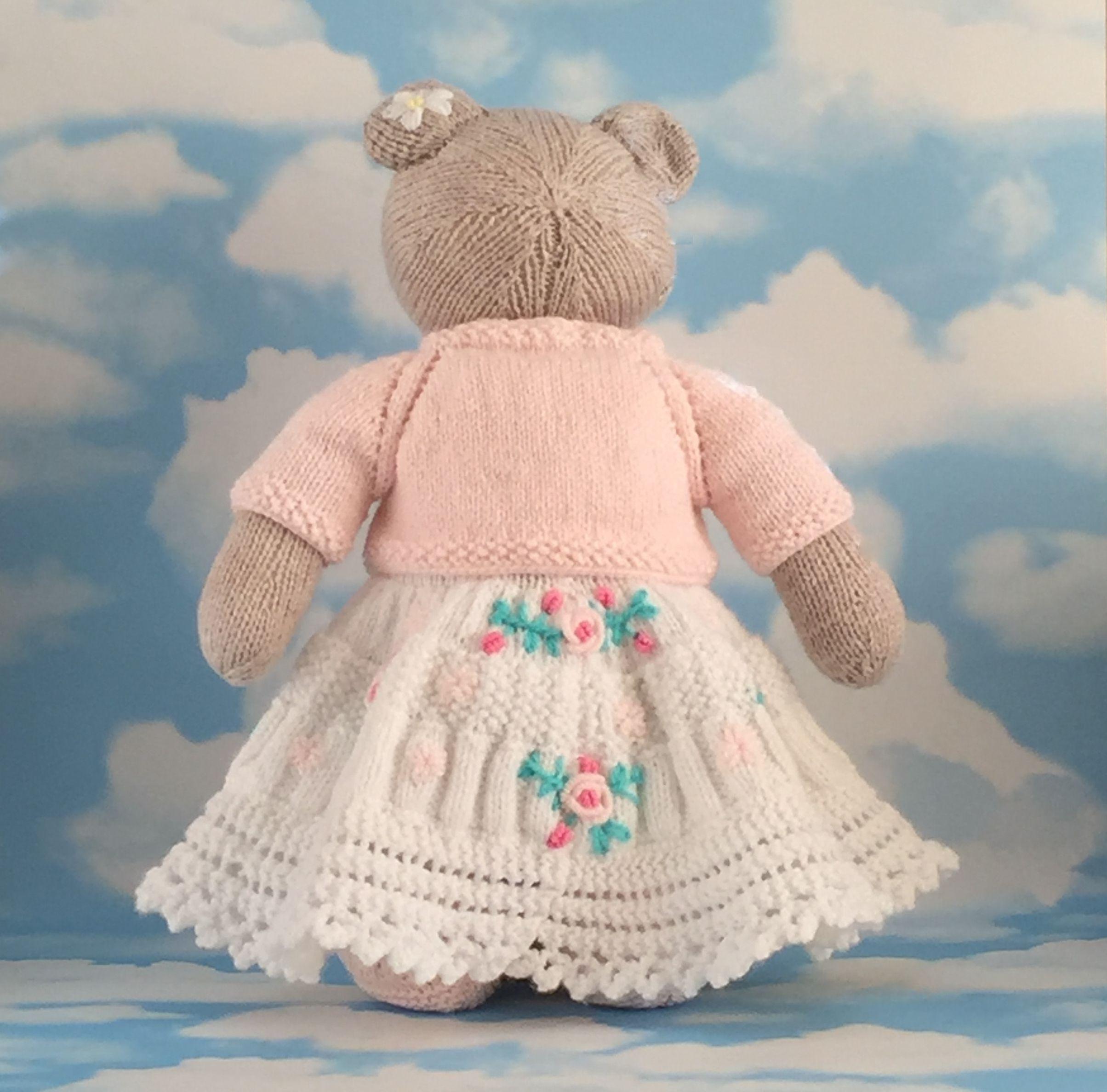 gift pink handmade teddy