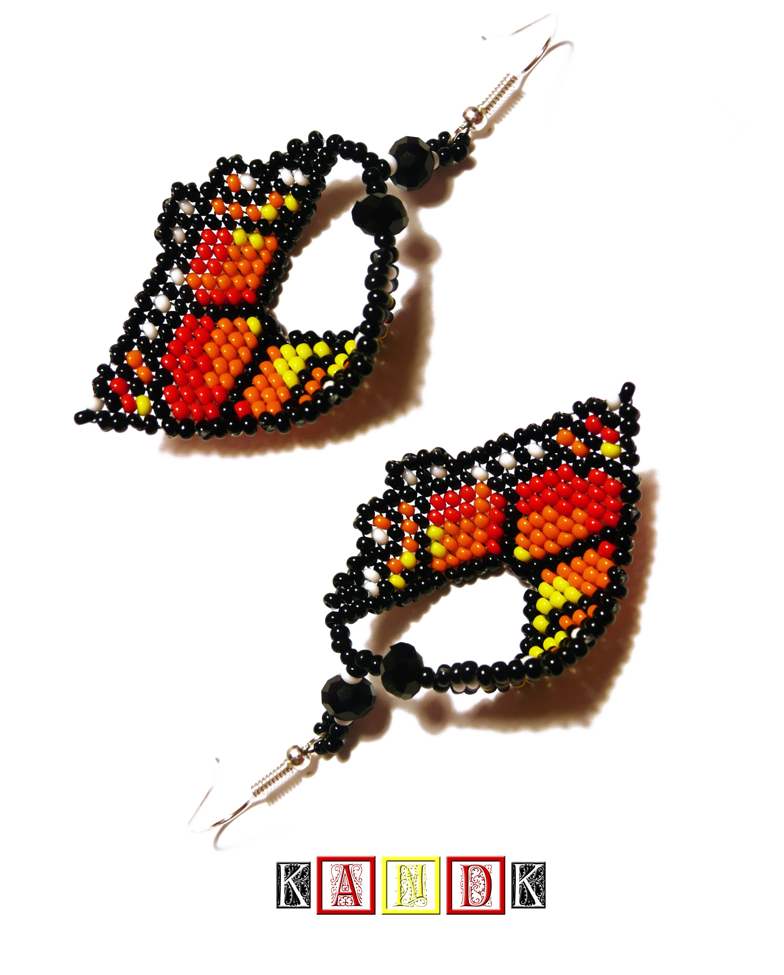 colorful romantic earrings jewelry silver