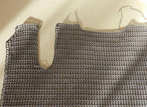 goods crochet textile scheme shirt