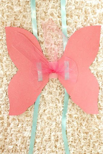 tulle decorating fairy wings make