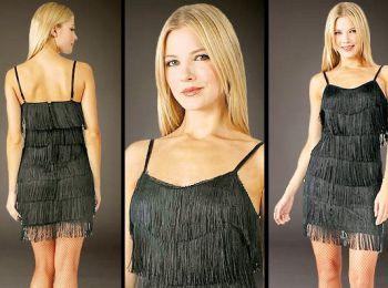 flapper make dress fabric clothing