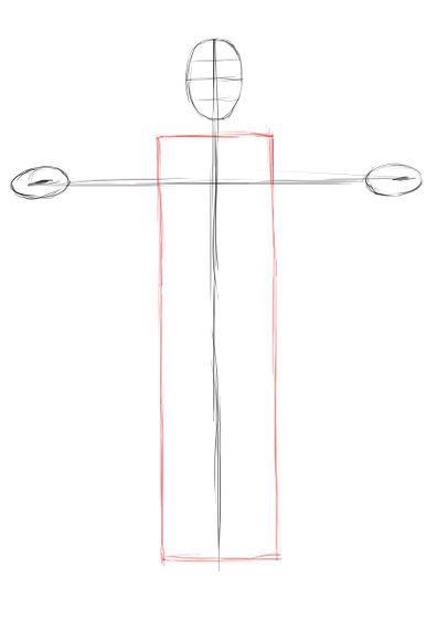 line jesus draw pencil art