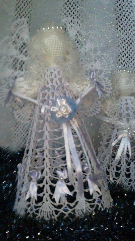 gift angel christmas white knitting