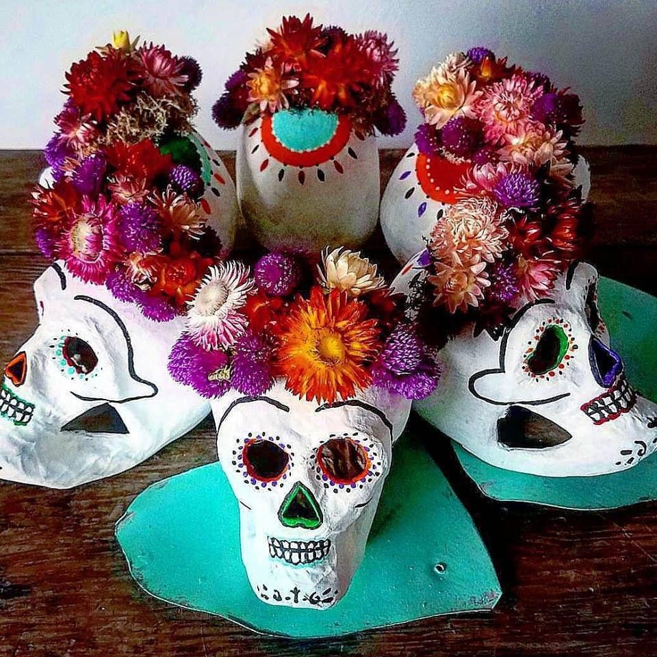 sugar muertos los dia skull workshop