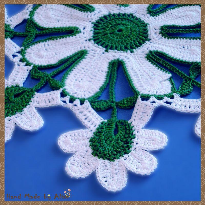 home crochet napkin
