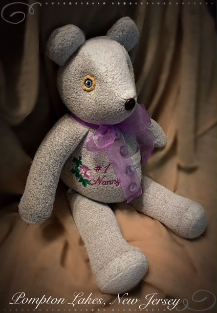 bears hand stuffed custom cherished keepsake memory memories collectables made