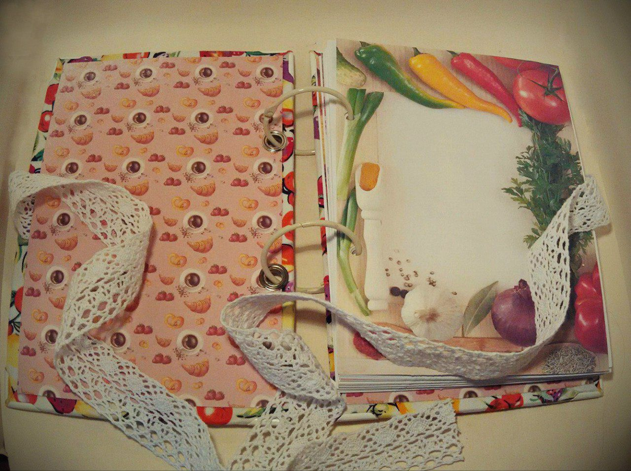 cooking delicious recipebook handmade