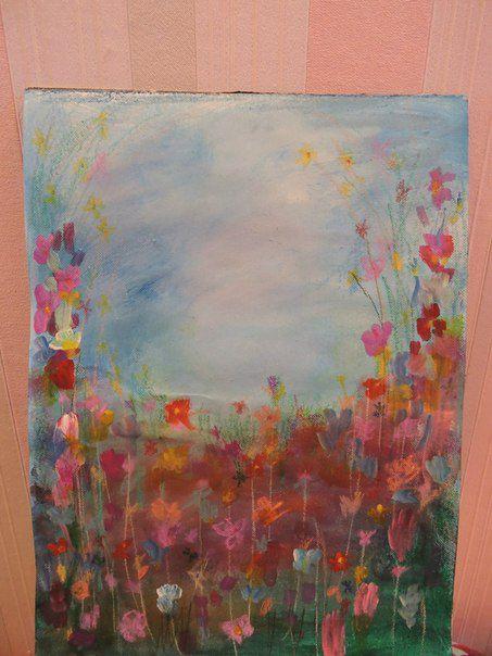 paint acrylic canvas art