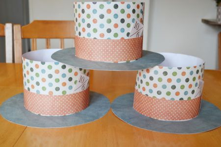 make top hat paper crafts