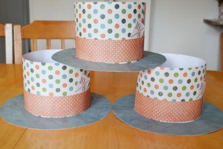 paper top crafts hat make