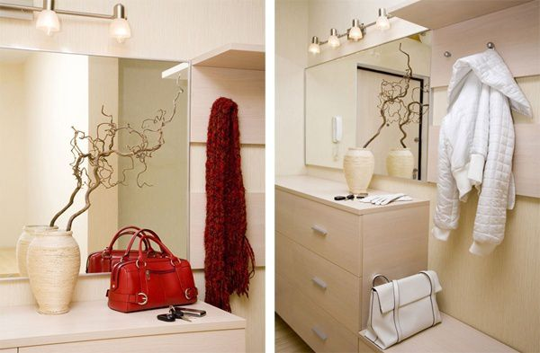color furniture decorate hallway lighting