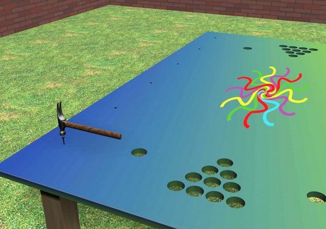 entertainment pong wooden table beer