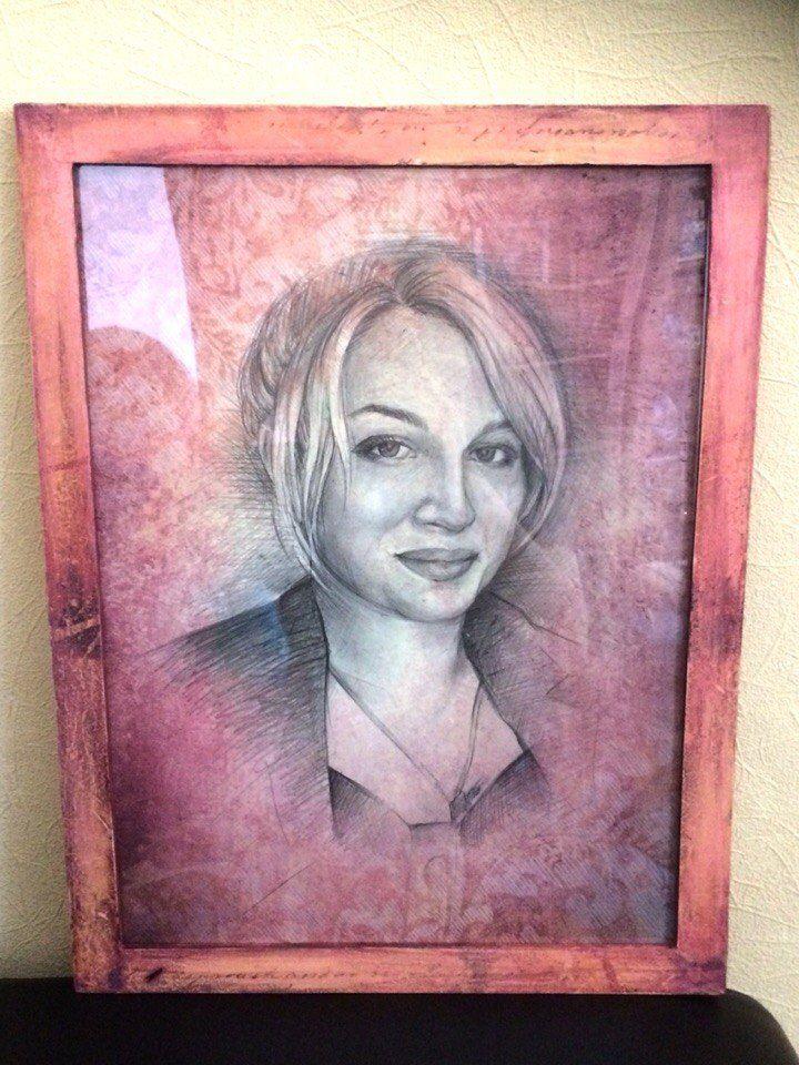 art painting interior portrait picture