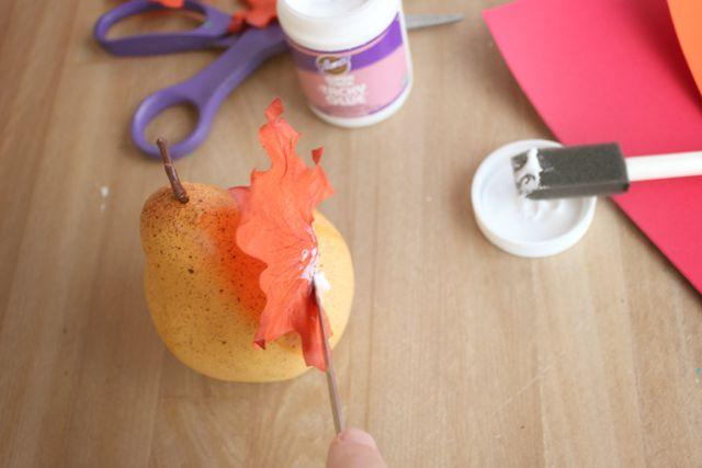 decor pear thanksgiving