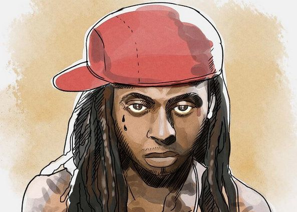 art steps lil wayne draw