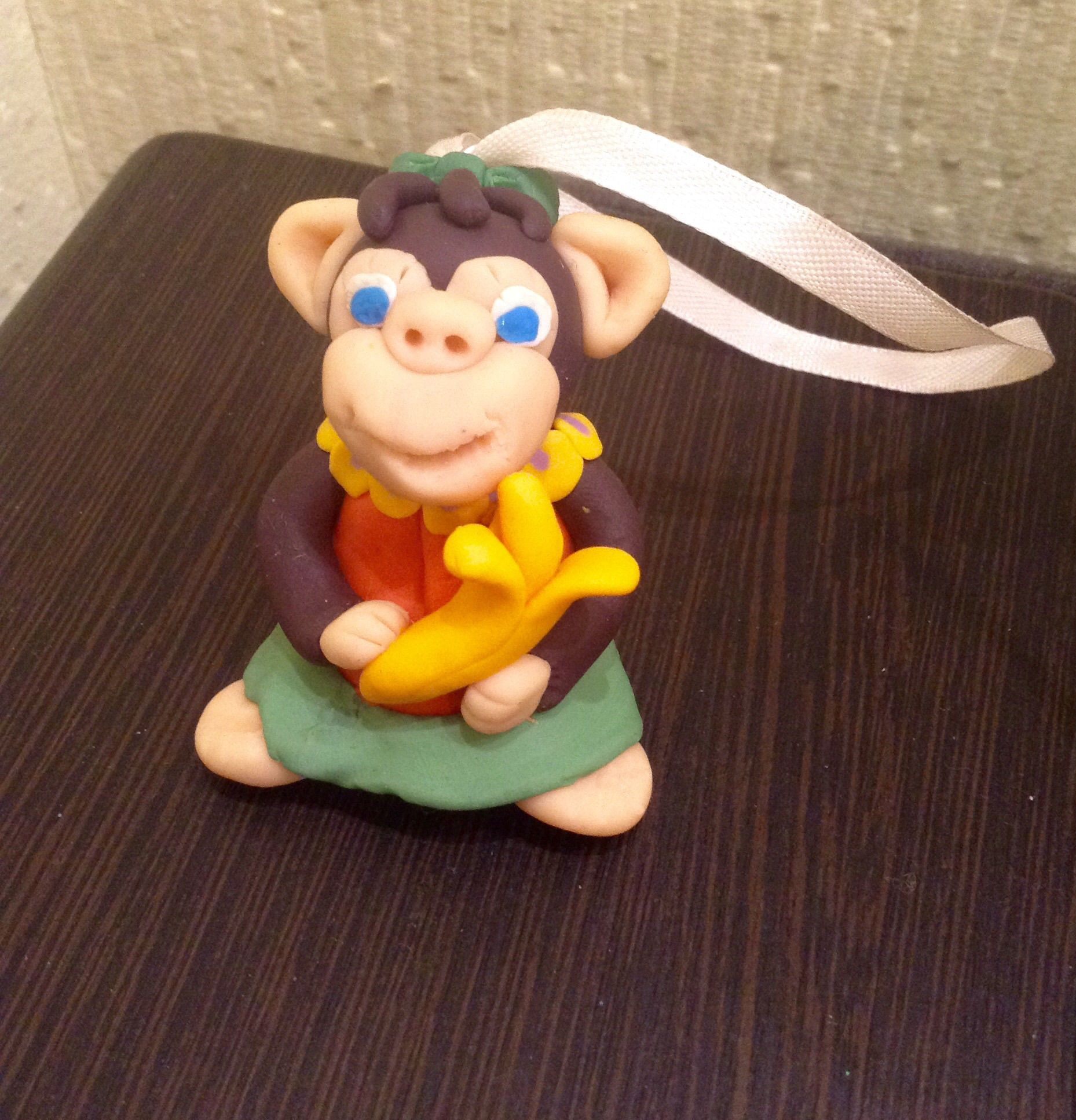 toy holiday christmas monkey