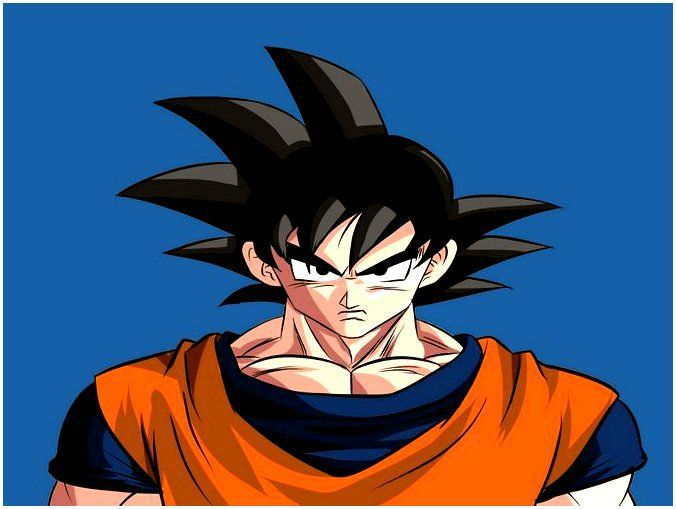 art form goku colours draw