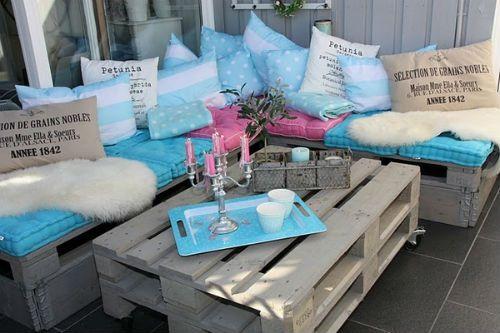 pallet corner sofa make wooden furniture table handicrafts