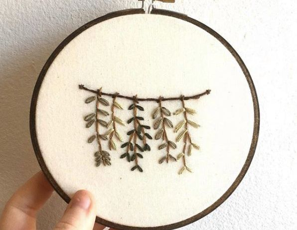 Modern Embroidery Mothers Day Edition