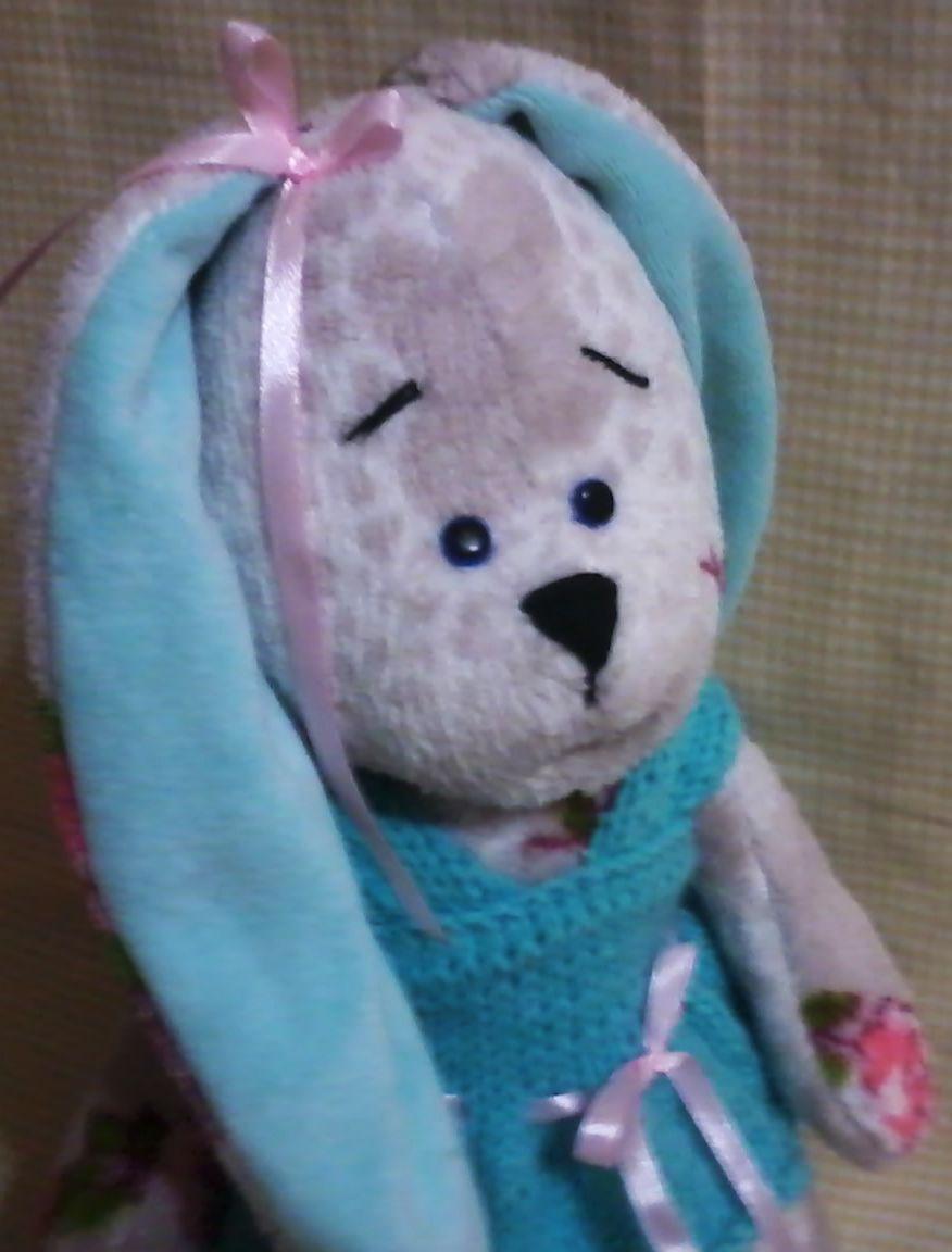 toy grey blue kids bear