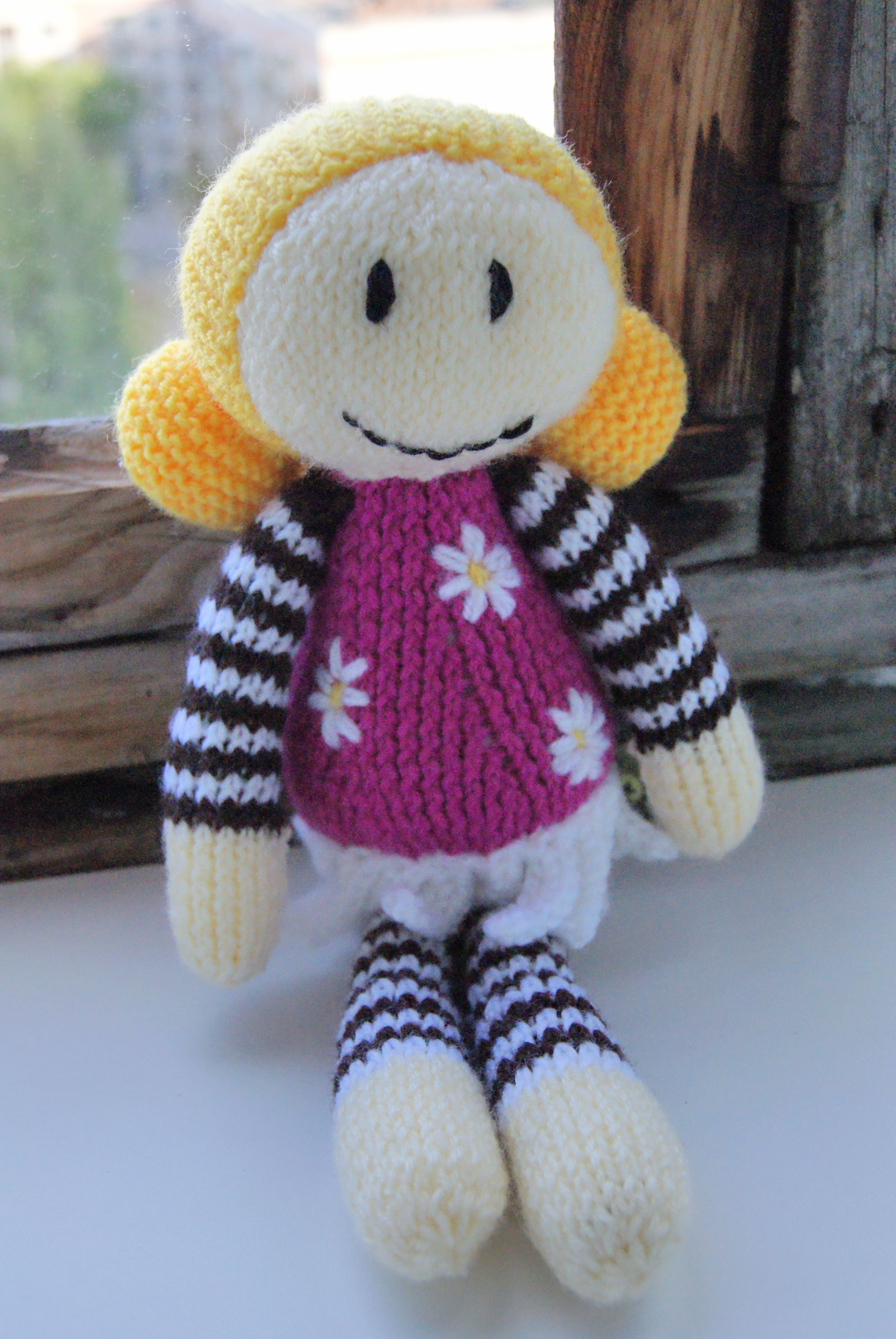 doll gift children interiortoy interiordoll knit