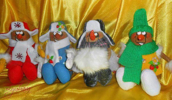 snowmen gift newyear