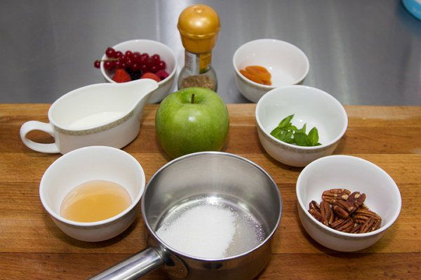 cookery apples cook make ingredients