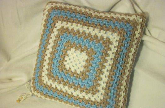 instruments goods pillow crochet textile materials