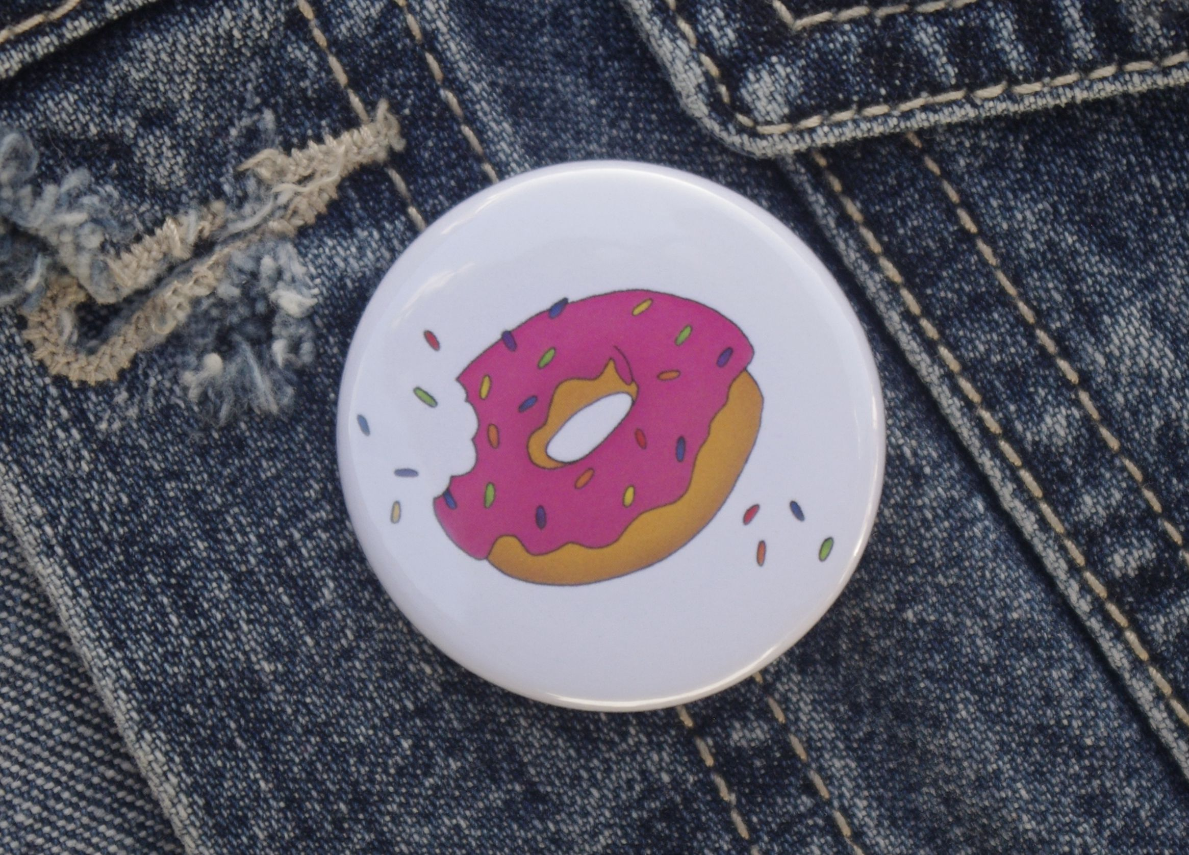 accessories food sweets gift stockingfiller pin gifts sprinkles pinbadge badge doughnut tattoo art
