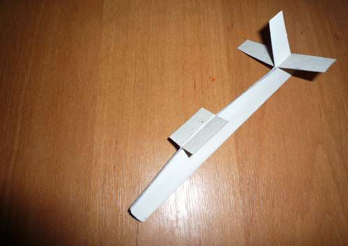 sailplane glider crafts paper make