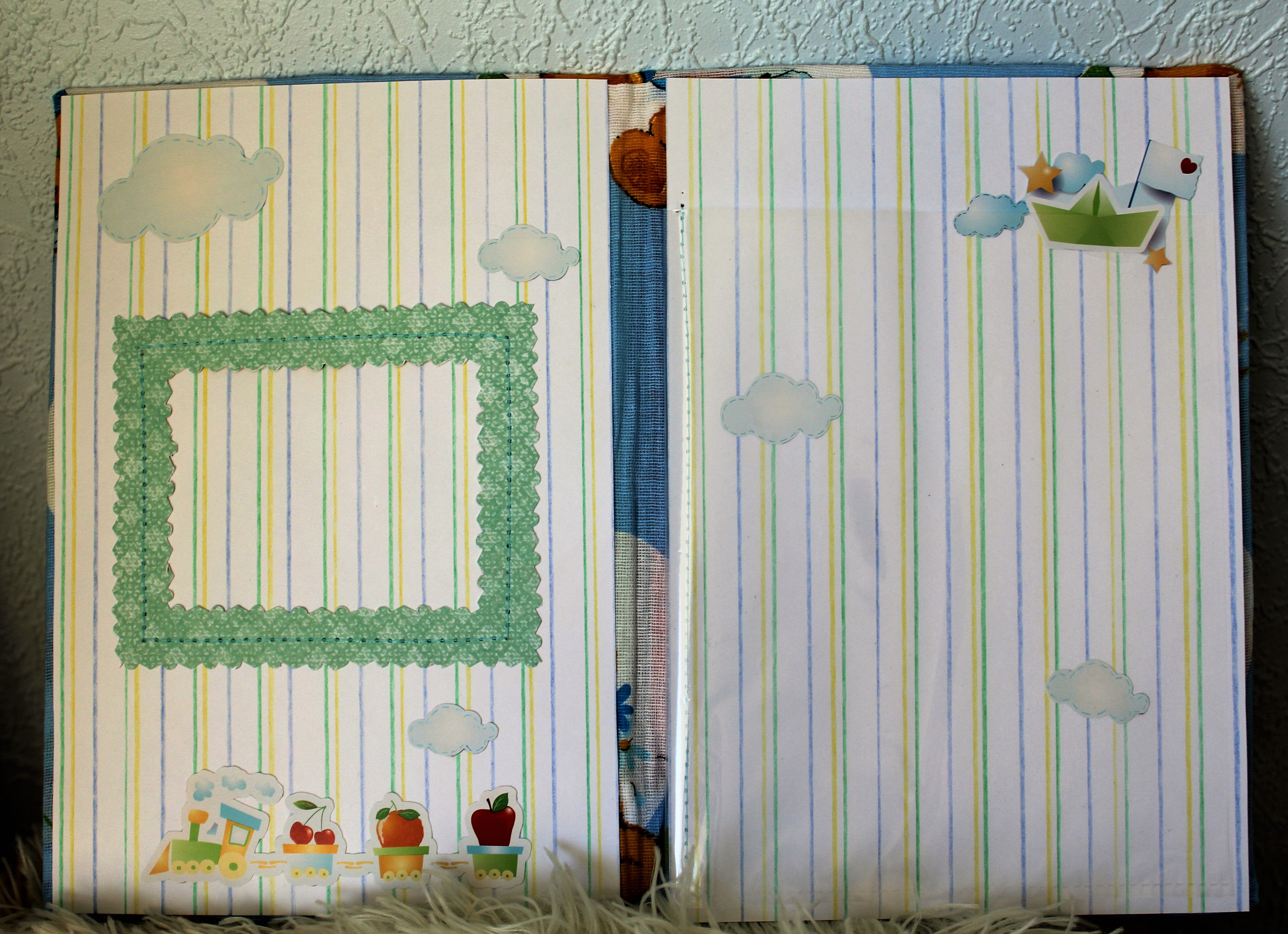 present gift children handmade scrapbooking