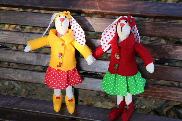 textile toy bunny