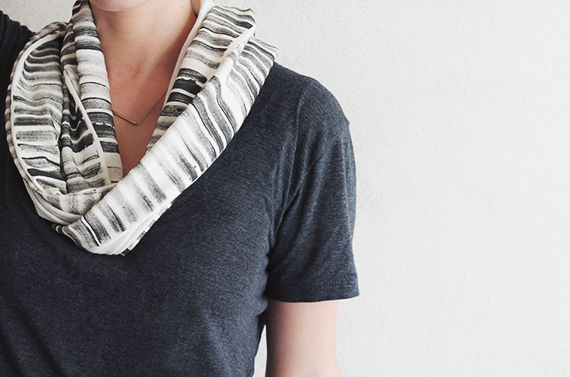 fashion cute outfit scarf diy stamp
