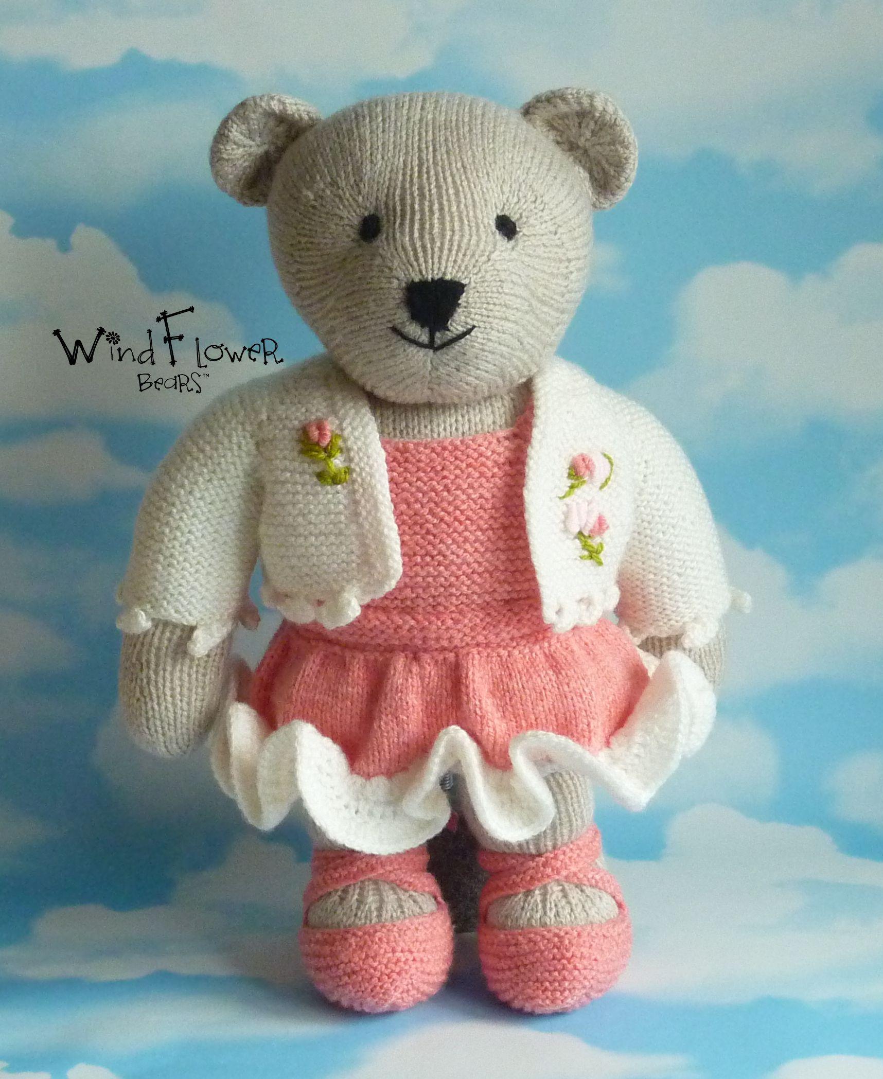ballerina gift bear handmade