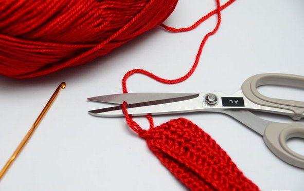 goods crochet textile cuffs boot