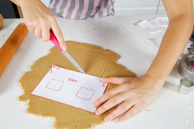 gingerbread cookery flour
