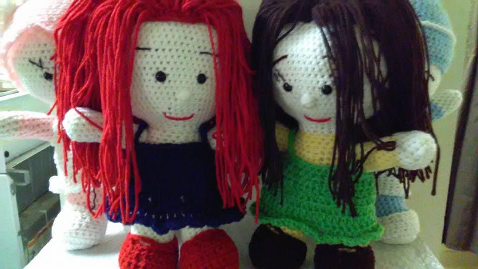 amigurumi crocheted handmade doll