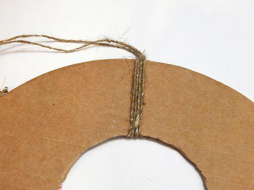 accessories wreath christmas make burlap