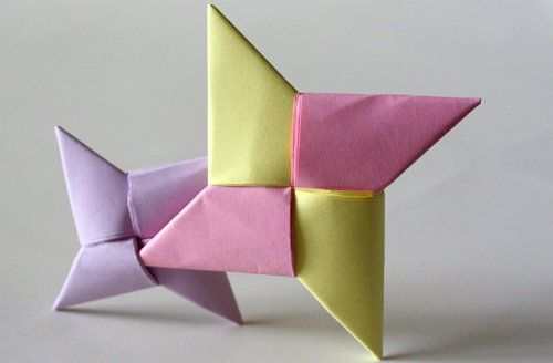 star ninja crafts origami paper